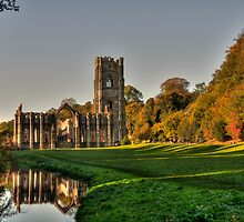 Fountains Abbey by AJM Photography