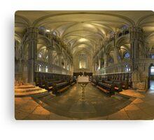 Canterbury Choir Canvas Print