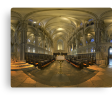 Canterbury Choir Canvas Print