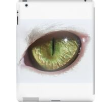White Eye iPad Case/Skin