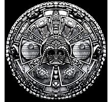 Aztec Space Lord Photographic Print