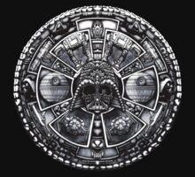 Aztec Space Lord by Galih Sanjaya Kusuma wiwaha