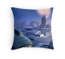 Stargate City Throw Pillow
