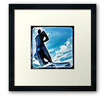 The Spartan Framed Print