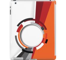 Modern Retro abstract pattern iPad Case/Skin