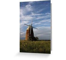 upper tyso windmill  Greeting Card