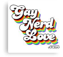 Gay Nerd Love Dot Com Metal Print