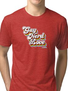 Gay Nerd Love Dot Com Tri-blend T-Shirt