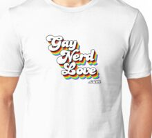 Gay Nerd Love Dot Com Unisex T-Shirt