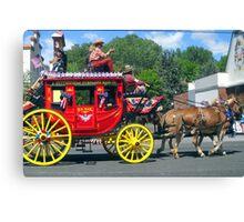 Mail Wagon Canvas Print