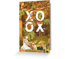 Oh, xoxo... Greeting Card