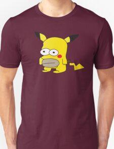 Pikachu + Homer Simpson T-Shirt