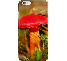 Red Cap & Orange Stalkings iPhone Case/Skin
