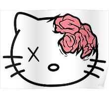 hello kitty zombie Poster