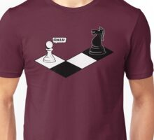 Knight Takes Pawn Unisex T-Shirt
