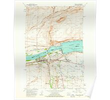 USGS Topo Map Washington Umatilla 244406 1962 24000 Poster