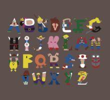 Gamer's Alphabet One Piece - Short Sleeve