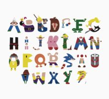 Gamer's Alphabet Kids Tee