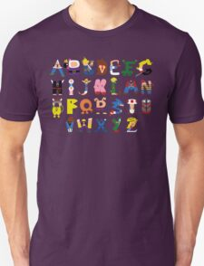 Gamer's Alphabet Unisex T-Shirt