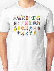 Gamer's Alphabet T-Shirt