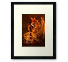 Witchburn by Rob Carlos Framed Print