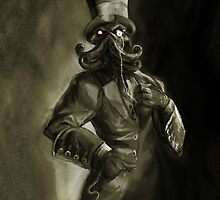 Dapper Cthulhu by DanielBDemented