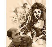 Designer and his work Photographic Print