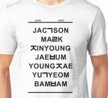 love got7 Unisex T-Shirt