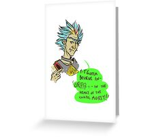 BURP of the Cards Greeting Card