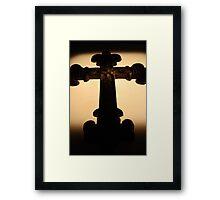 Gothic Cross Framed Print