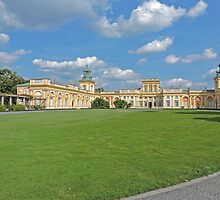 Wilanow Palace, Warsaw, Poland by Margaret  Hyde
