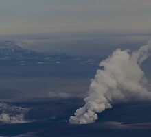 Grímsvötn eruption by Aron  Berndsen