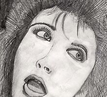 199 - KATE BUSH - DAVE EDWARDS - PENCIL -1994 by BLYTHART