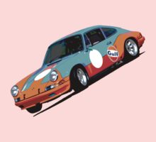 Wild Porsche 911  Kids Clothes