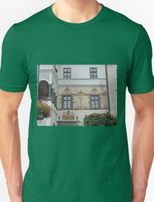 Facade, home of G.D. Thomas Beniczky Unisex T-Shirt
