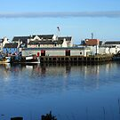 Water in Motion - Stornoway Docks by MidnightMelody