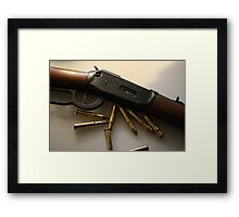 West Framed Print