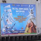Huge Poster,Tells of Waterford's Hosting of 2011 Tall Ships Race. by Pat Duggan