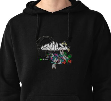 Seied - Bugz In My Headphonez Official Merch Pullover Hoodie