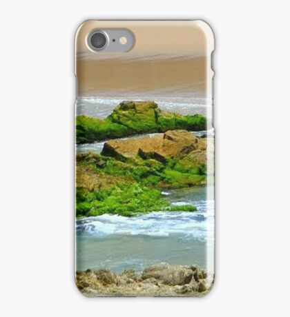 Moss on the Rocks. iPhone Case/Skin