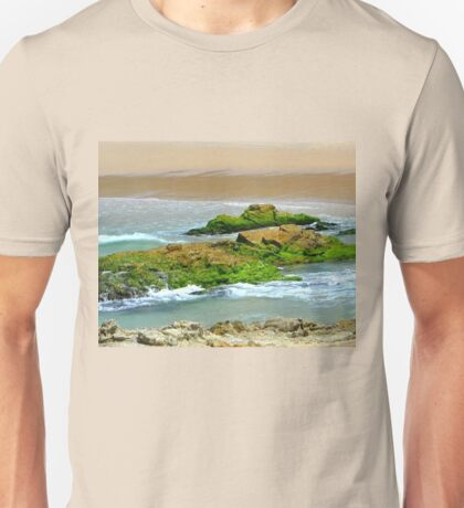 Moss on the Rocks. Unisex T-Shirt