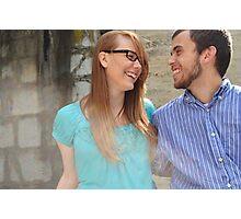 Susan and Trevor Photographic Print