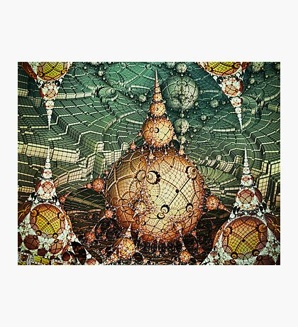 Temples Of Syrinx Photographic Print