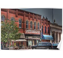 Downtown in McKinney Poster