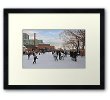 Skating at Toronto's Harbourfront Framed Print