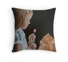 Cute and Cuddley Throw Pillow