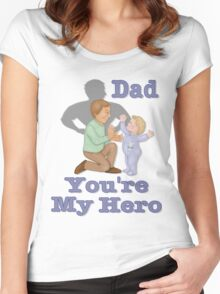 Dad Hero Women's Fitted Scoop T-Shirt