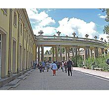 Colonnade, San Souci Palace, Potsdam, Germany Photographic Print