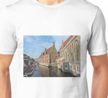 A Canal in Bruges Unisex T-Shirt