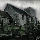 St.Nicholas in Bramber by Larry Lingard-Davis